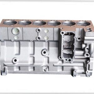 Cummins 6CT Cylinder block with double thermostat