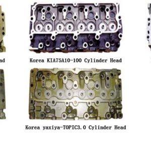 cylinder head for Korea kia
